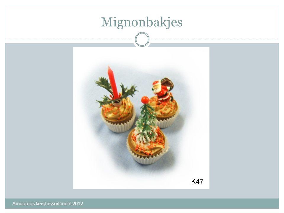 Mignonbakjes Amoureus kerst assortiment 2012 K47