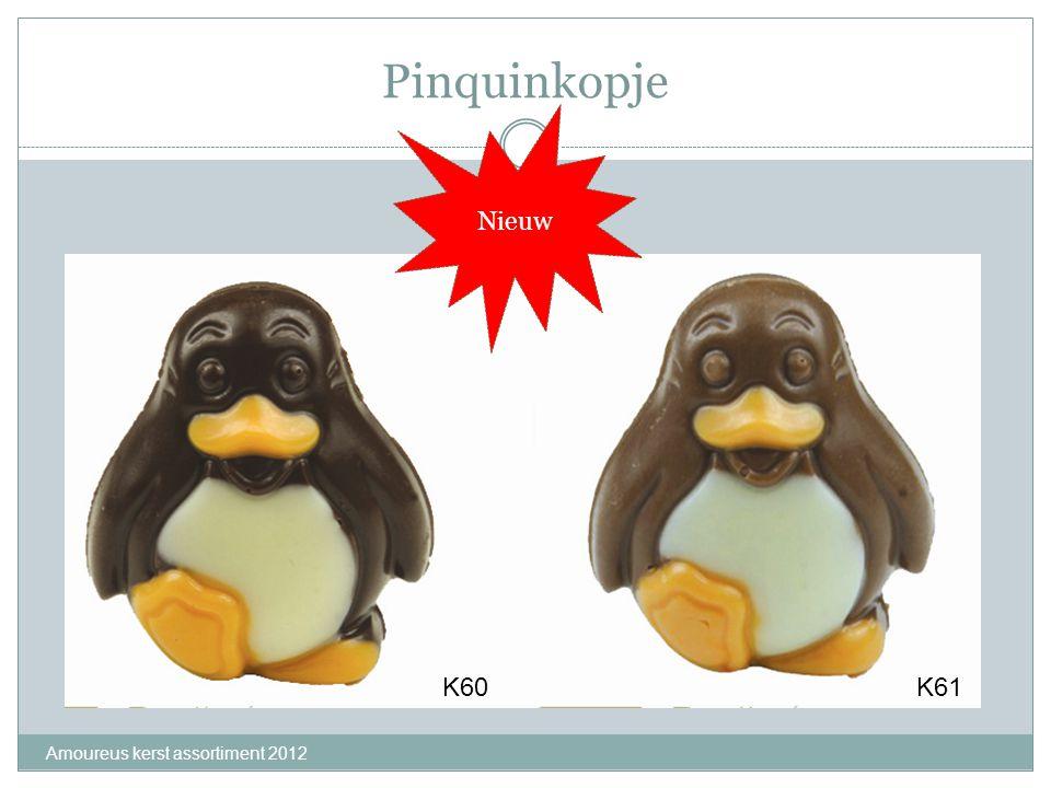 Pinquinkopje Amoureus kerst assortiment 2012 K60 K61 Nieuw