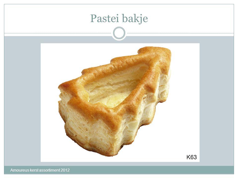 Pastei bakje Amoureus kerst assortiment 2012 K63