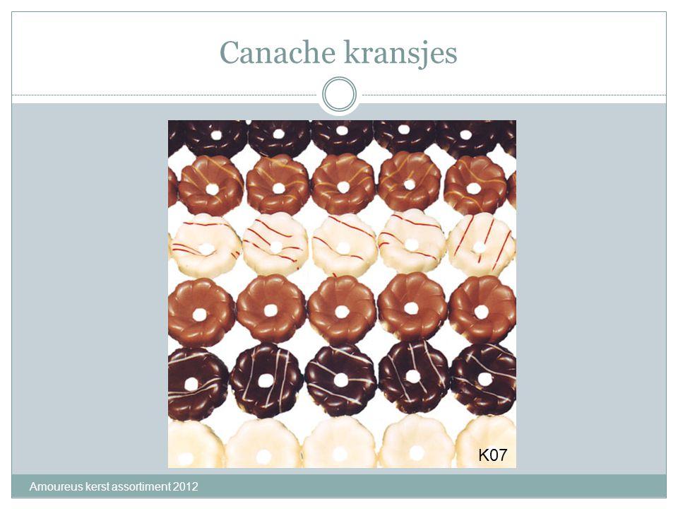 Canache kransjes Amoureus kerst assortiment 2012 K07