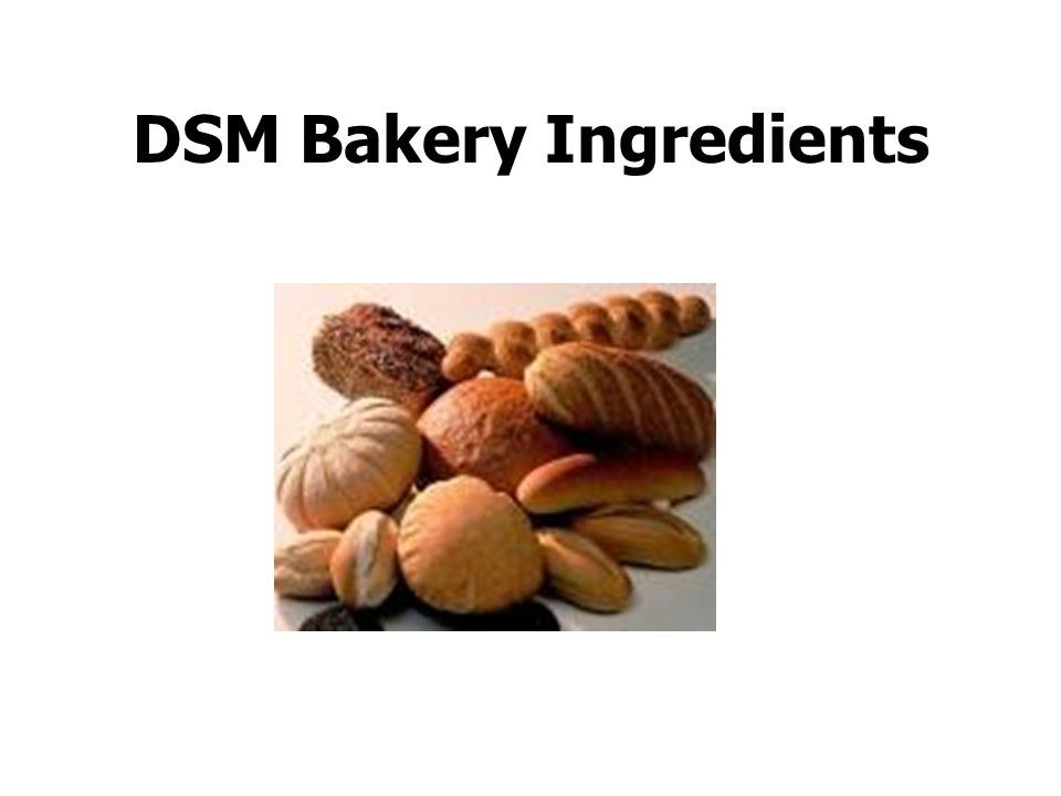 DSM Bakery Ingredients