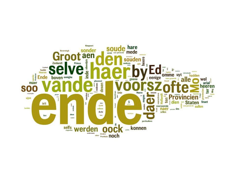 Wordcloud Deductie