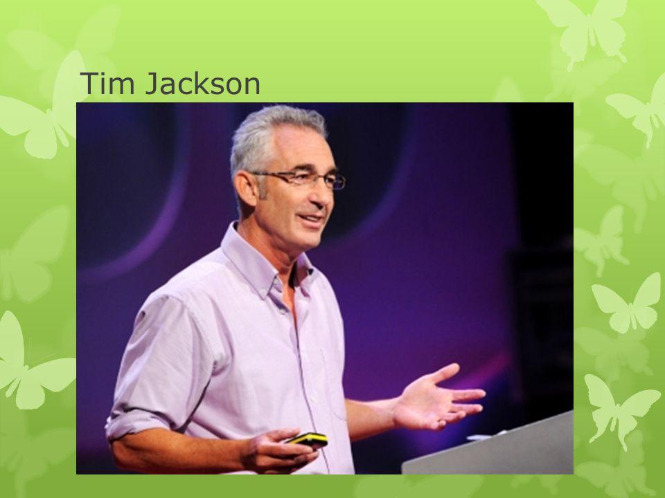Tim Jackson  Welvaart = (duurzame) consumptie + sociale cohesie + een gezond leefmilieu.  Er is nu al krimp bij de meeste gezinnen => nu handelen. 