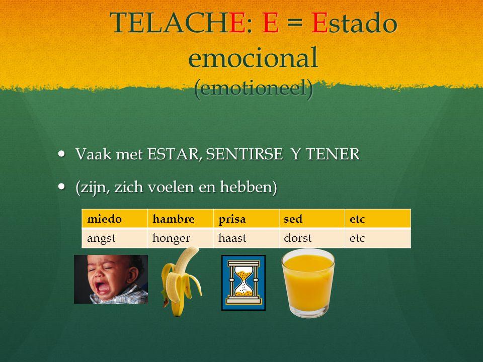 TELACHE: H = Hora y fecha(tijd en datum) Era la una Era el primero de mayo. Telache estaba esperando respuestas a sus invitaciones para su fiesta de c