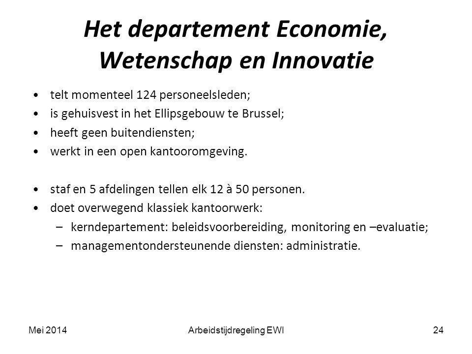 telt momenteel 124 personeelsleden; is gehuisvest in het Ellipsgebouw te Brussel; heeft geen buitendiensten; werkt in een open kantooromgeving. staf e
