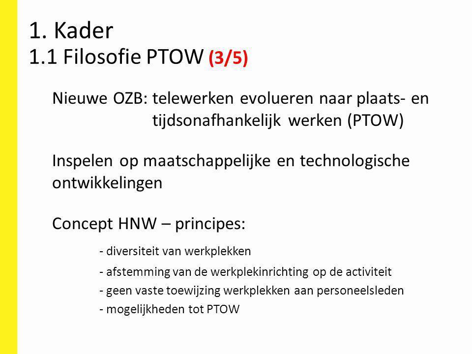 Ondersteuning (1) 107 Algemeen: Toolbox Plaats- en tijdonafhankelijk werken.