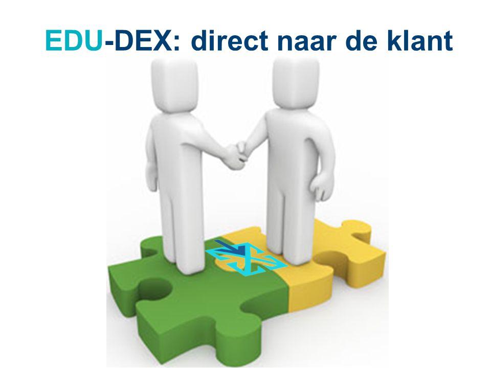 EDU-DEX: direct naar de klant