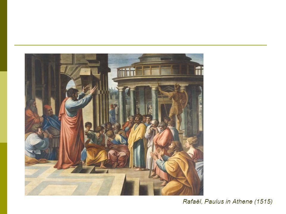 Rafaël, Paulus in Athene (1515)