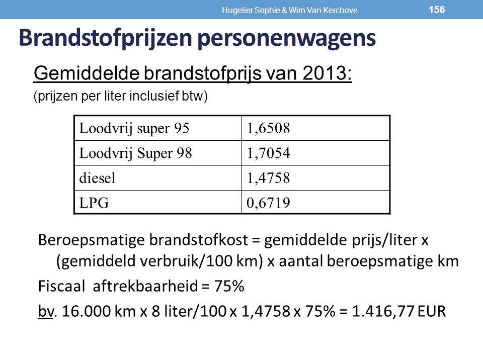 Brandstofprijzen personenwagens Gemiddelde brandstofprijs van 2013: (prijzen per liter inclusief btw) Loodvrij super 951,6508 Loodvrij Super 981,7054