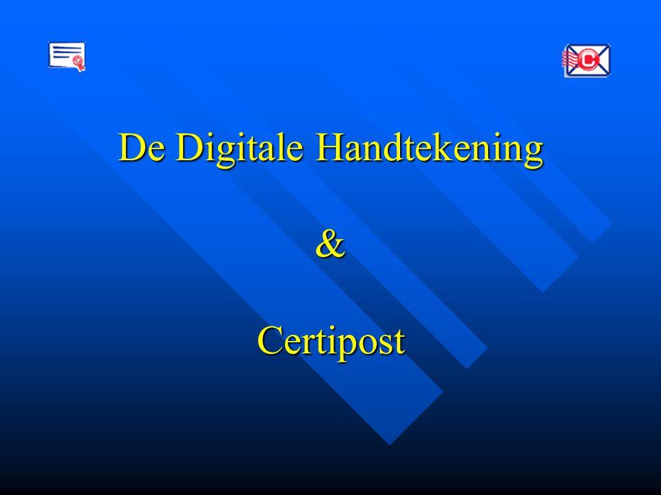De Digitale Handtekening & Certipost