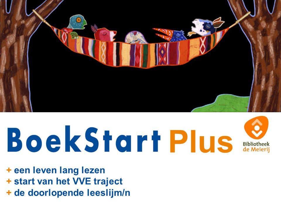 Plus + een leven lang lezen + start van het VVE traject + de doorlopende leeslijm/n