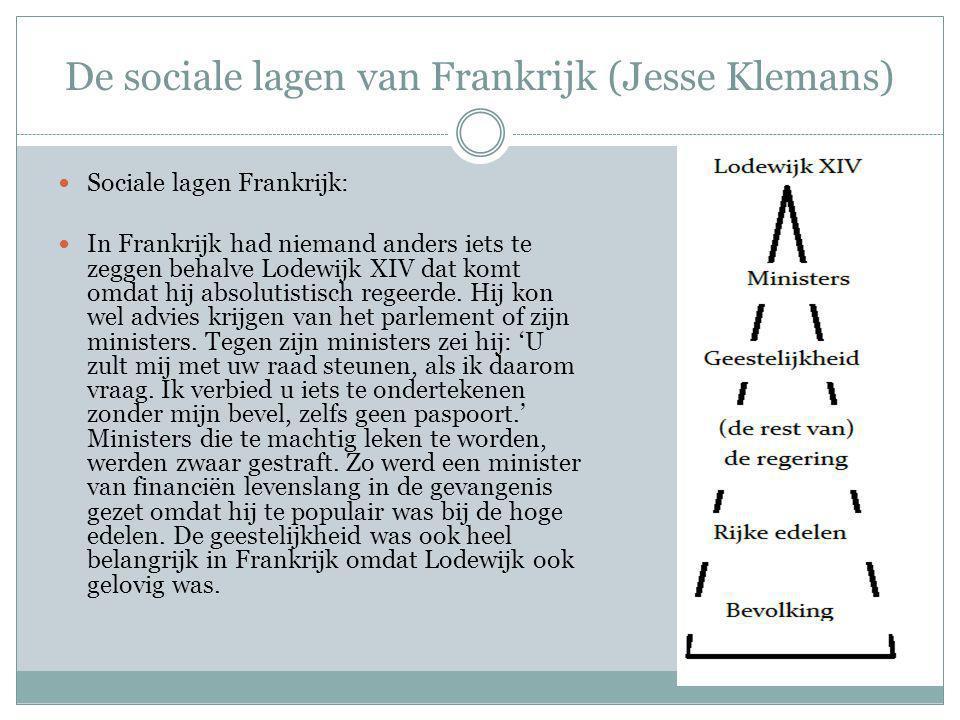 De sociale lagen van Nederland (Claudia Hoefsmit) Regenten: De regenten hadden bijna alle macht in handen van De Republiek.