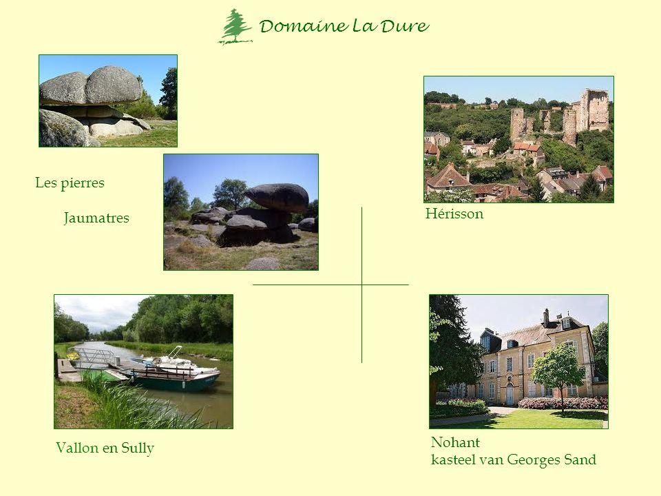 Domaine La Dure + 20 km St.-Priest Viaduct des Fades Wolvenpark Chambon sur Vouèze