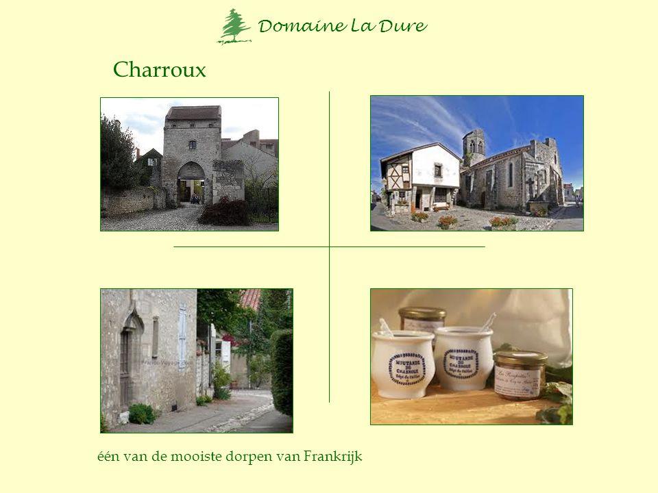 Domaine La Dure Les pierres Jaumatres Hérisson Vallon en Sully Nohant kasteel van Georges Sand