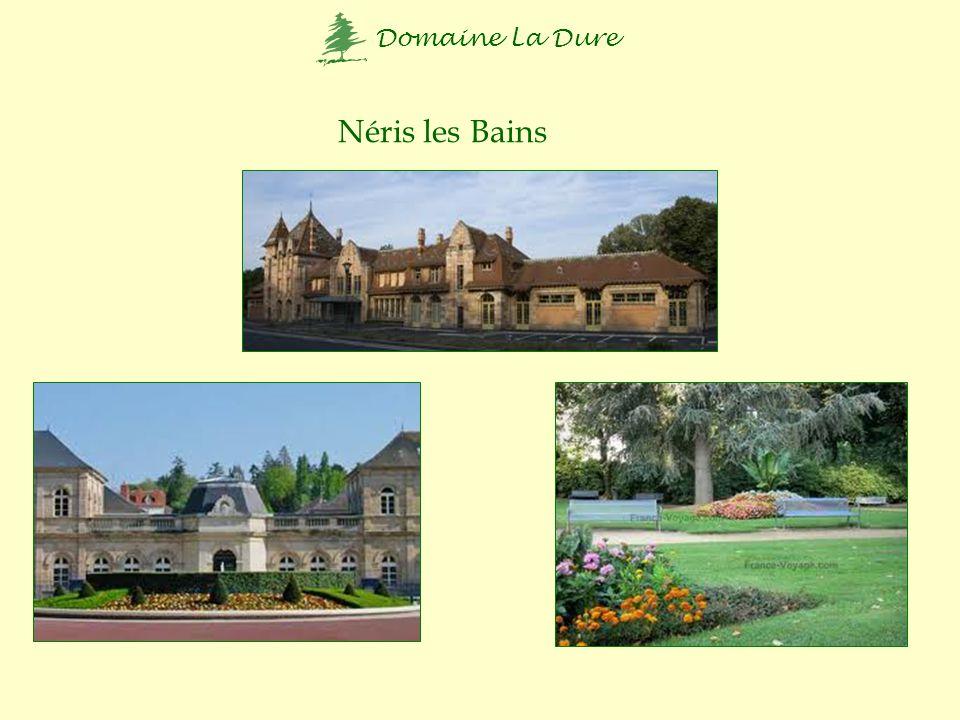 Domaine La Dure Montluçon 20 km verder