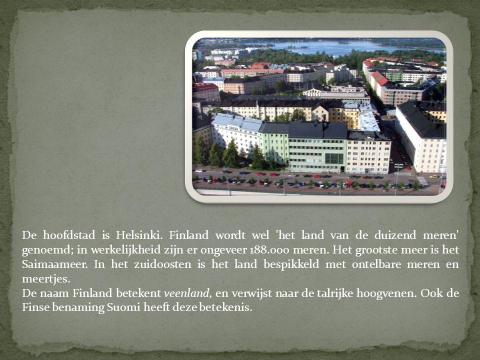 De hoofdstad is Helsinki.