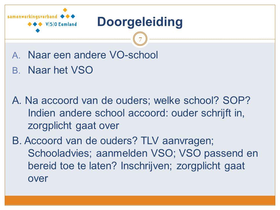 LWOO en PrO 8 Indicatiestelsel blijft voorlopig (2020?) Aanvraag-procedure Eemland: basischool vraagt i.o.m.