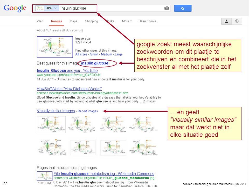 google zoekt meest waarschijnlijke zoekwoorden om dit plaatje te beschrijven en combineert die in het zoekvenster al met het plaatje zelf... en geeft