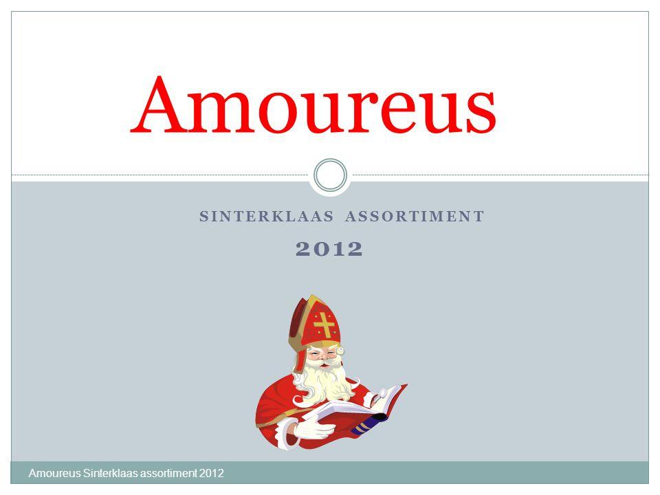 Chocoladeletter letter 200 gram Amoureus Sinterklaas assortiment 2012