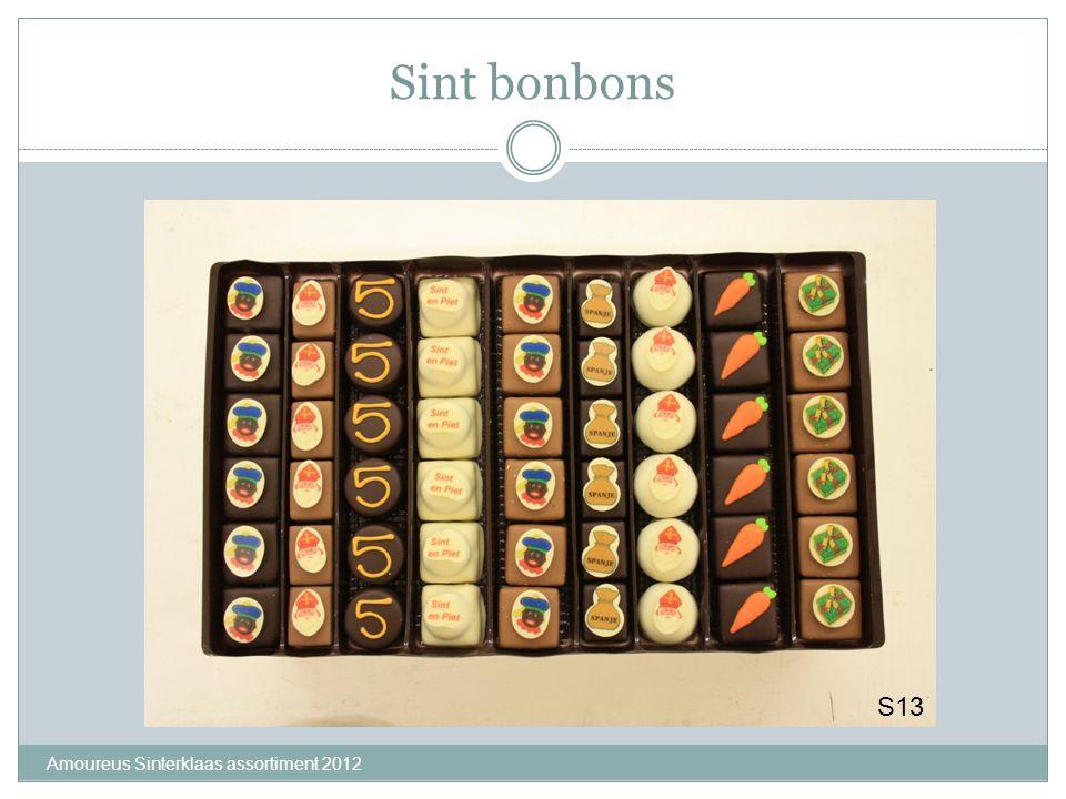 Sint bonbons Amoureus Sinterklaas assortiment 2012 S13
