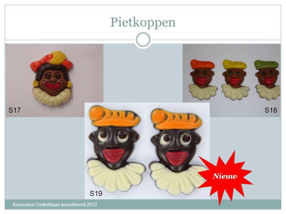 Pietkoppen Amoureus Sinterklaas assortiment 2012 S17S18 Nieuw S19