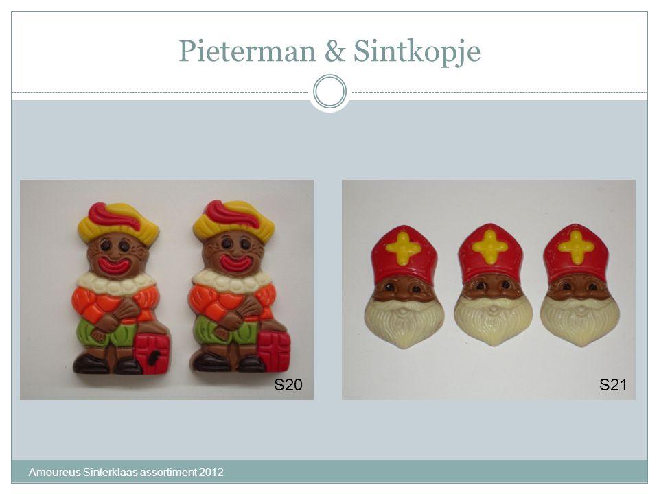 Pieterman & Sintkopje Amoureus Sinterklaas assortiment 2012 S20S21