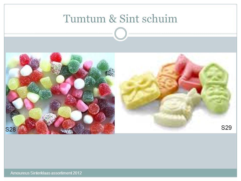 Tumtum & Sint schuim Amoureus Sinterklaas assortiment 2012 S28 S29