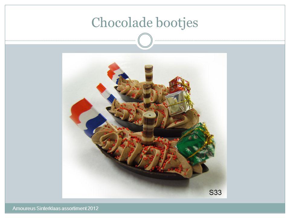 Chocolade bootjes Amoureus Sinterklaas assortiment 2012 S33