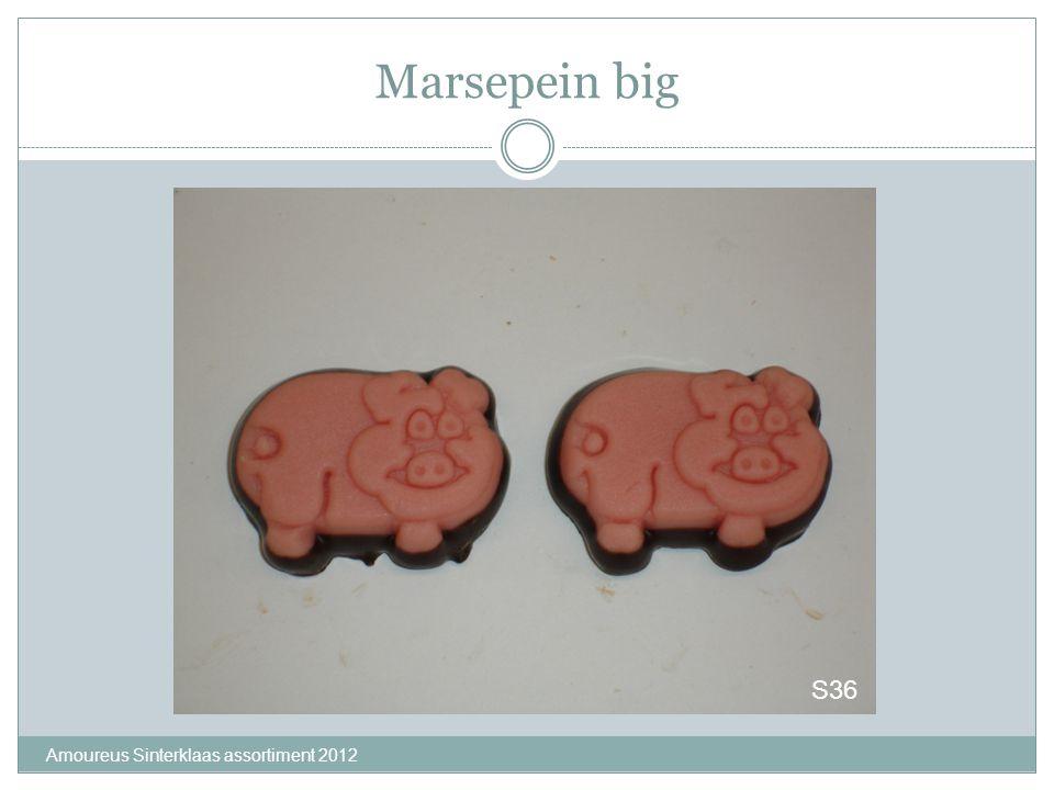 Marsepein big Amoureus Sinterklaas assortiment 2012 S36