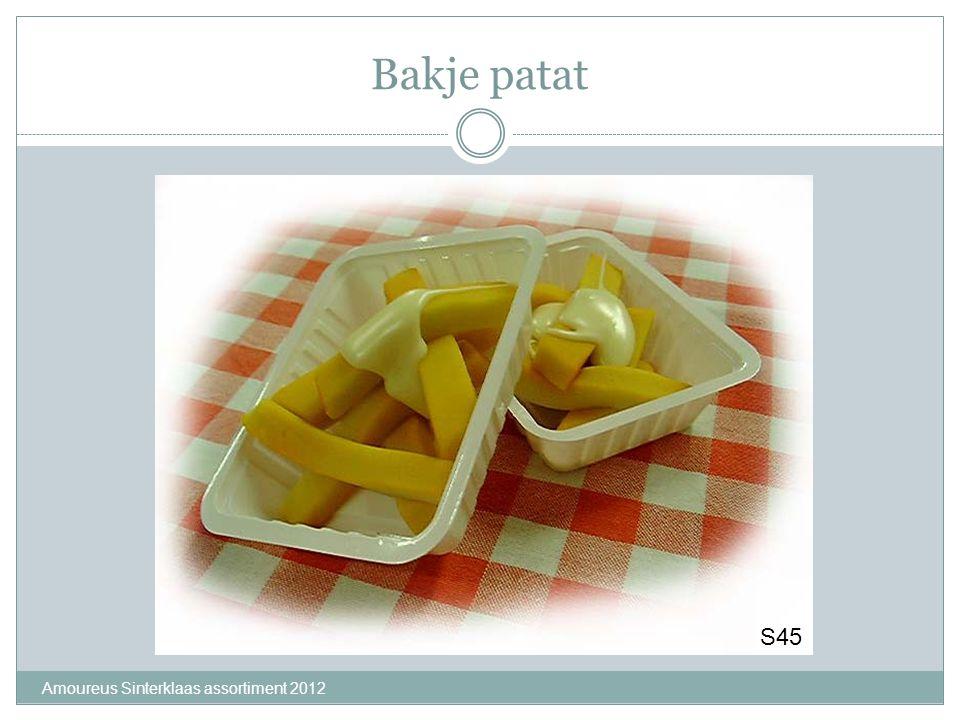Bakje patat Amoureus Sinterklaas assortiment 2012 S45