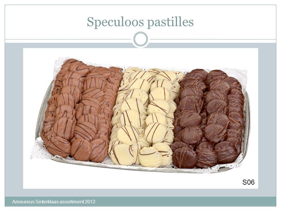 Speculoos pastilles Amoureus Sinterklaas assortiment 2012 S06