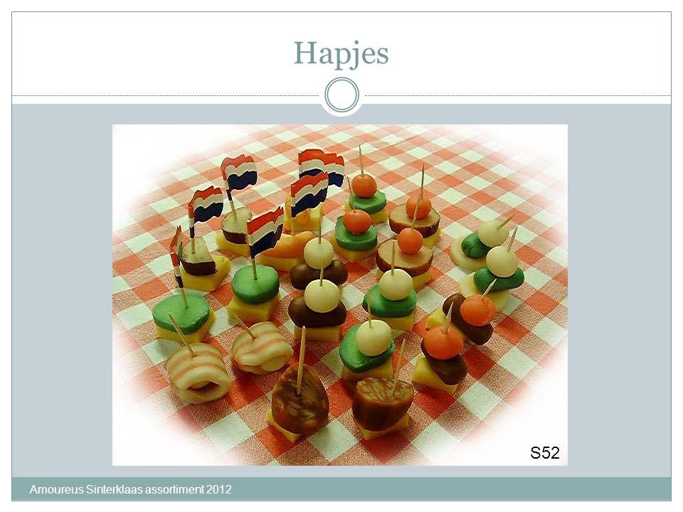 Hapjes Amoureus Sinterklaas assortiment 2012 S52