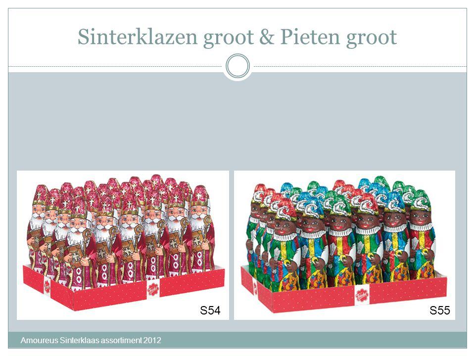 Sinterklazen groot & Pieten groot Amoureus Sinterklaas assortiment 2012 S54S55