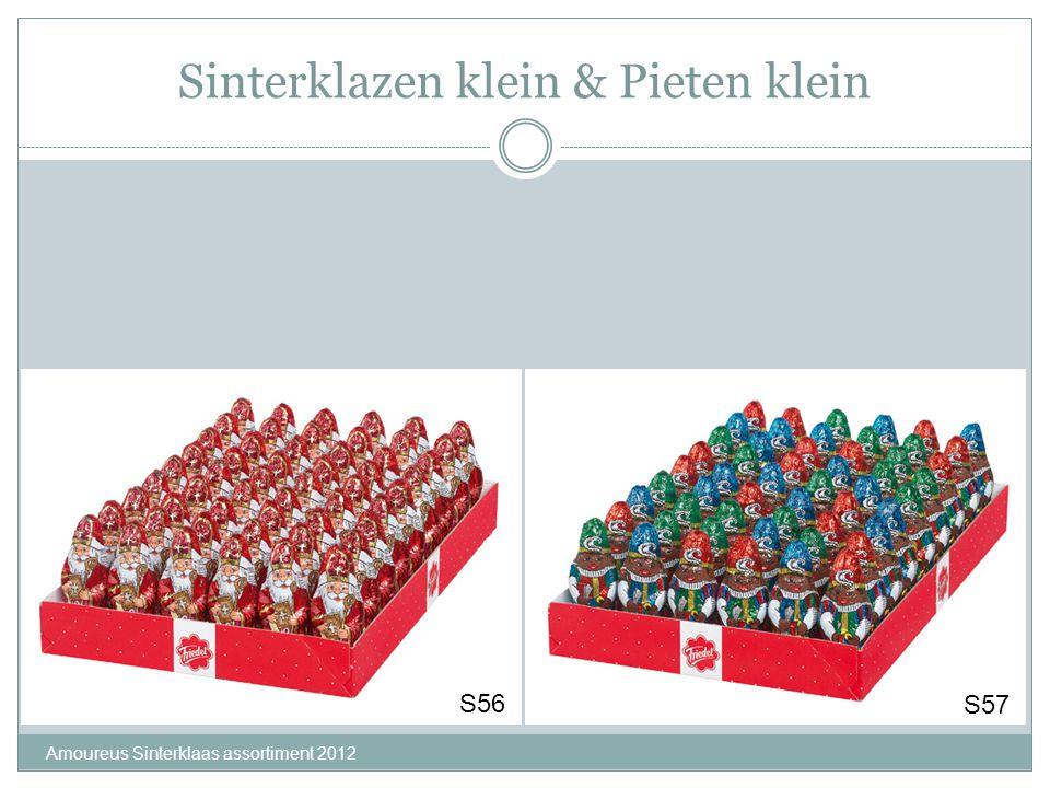 Sinterklazen klein & Pieten klein Amoureus Sinterklaas assortiment 2012 S56 S57