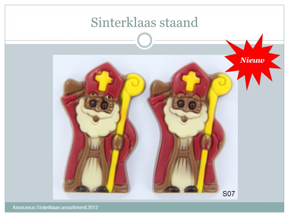 Lolly Piet & zwaaiende Piet Amoureus Sinterklaas assortiment 2012 S22S23