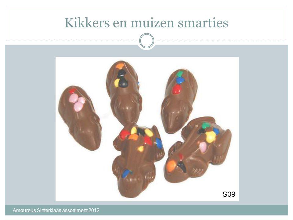 Kikkers en muizen smarties Amoureus Sinterklaas assortiment 2012 S09