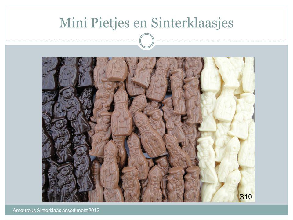 Mini Pietjes en Sinterklaasjes Amoureus Sinterklaas assortiment 2012 S10