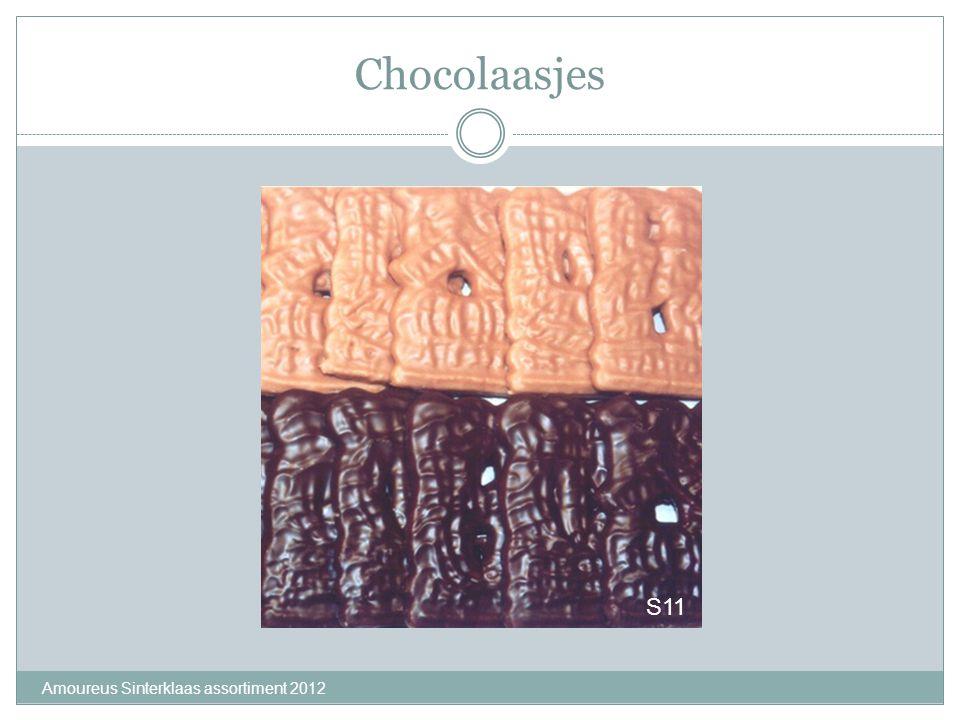 Chocolaasjes Amoureus Sinterklaas assortiment 2012 S11
