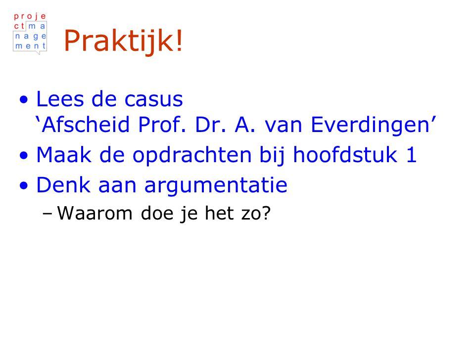 Praktijk.Lees de casus 'Afscheid Prof. Dr. A.
