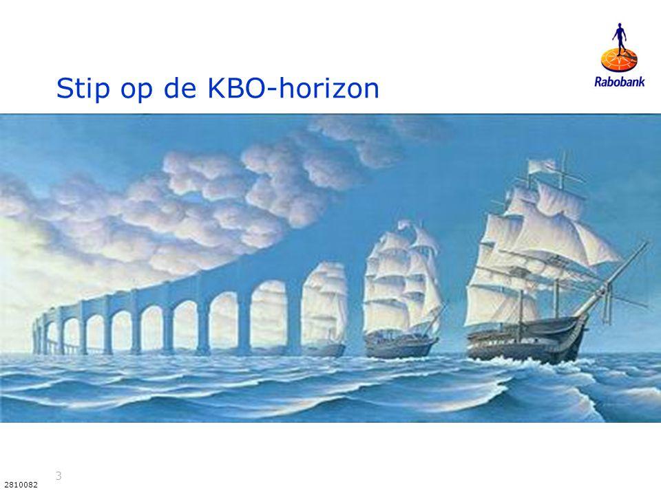 3 2810082 Stip op de KBO-horizon