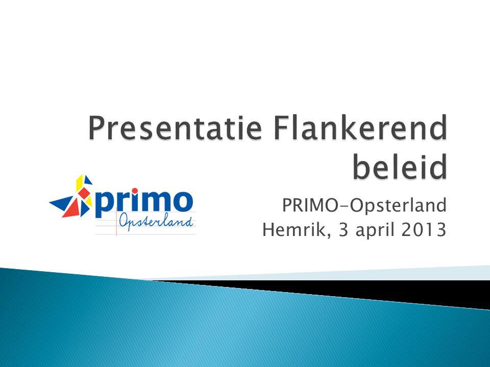 PRIMO-Opsterland Hemrik, 3 april 2013