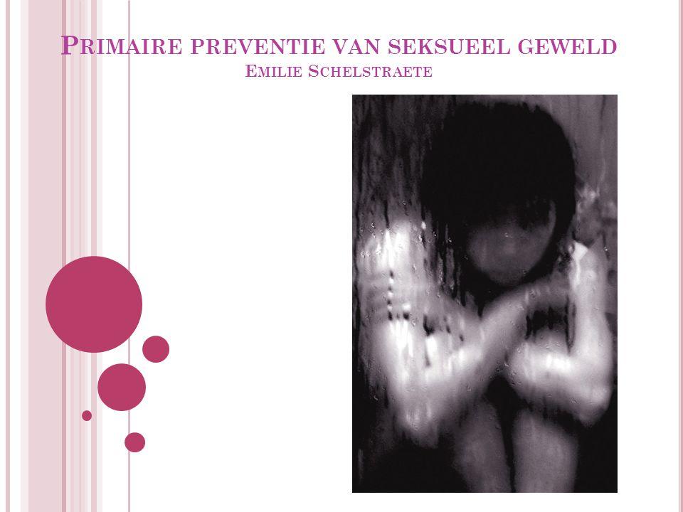 I NHOUDSTAFEL 12.1 Aard en omvang van seksueel geweld 12.1.1 seksueel geweld tegen minderjarigen 12.2 Ontwikkelingen in beleid 12.3 Ontwikkeling van evidence based preventieprogramma's 12.3.1 wetenschappelijke kennis over hoe gedrag totstandkomt 12.3.2 wetenschappelijke kennis over seksueel gedrag en geweld, risicogroepen en risicofactoren 12.3.3 wetenschappelijke kennis over effectiviteit van preventieprogramma's over seksueel geweld