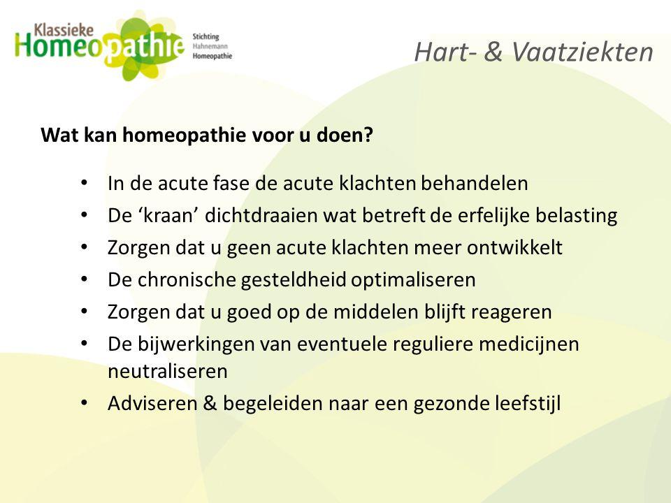 Homeopathie geneest hart- en vaatziekten, Ook bij u.