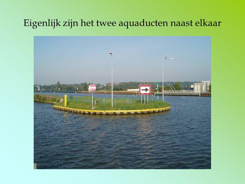 Eigenlijk zijn het twee aquaducten naast elkaar