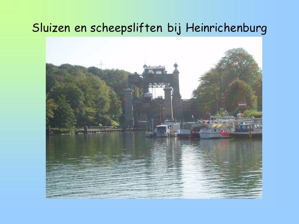 Sluizen en scheepsliften bij Heinrichenburg