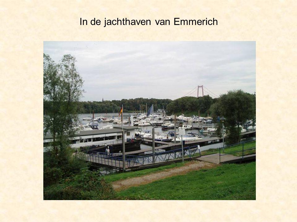 In de jachthaven van Emmerich