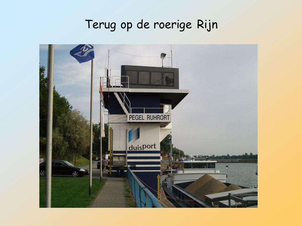 Terug op de roerige Rijn