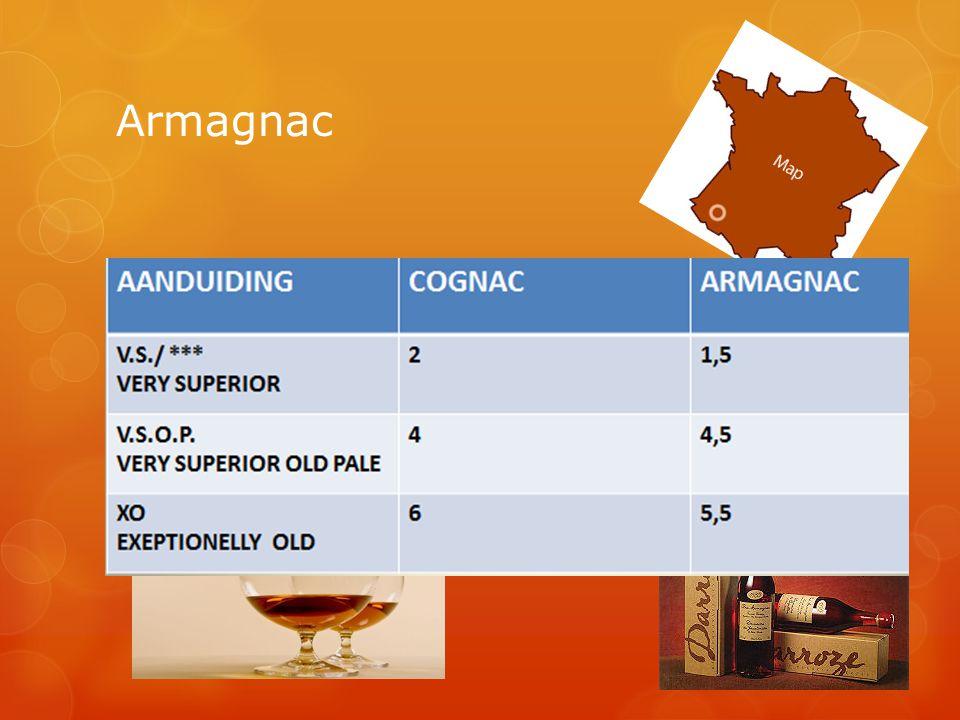 Armagnac  Alle ingrediënten uit 1 jaar