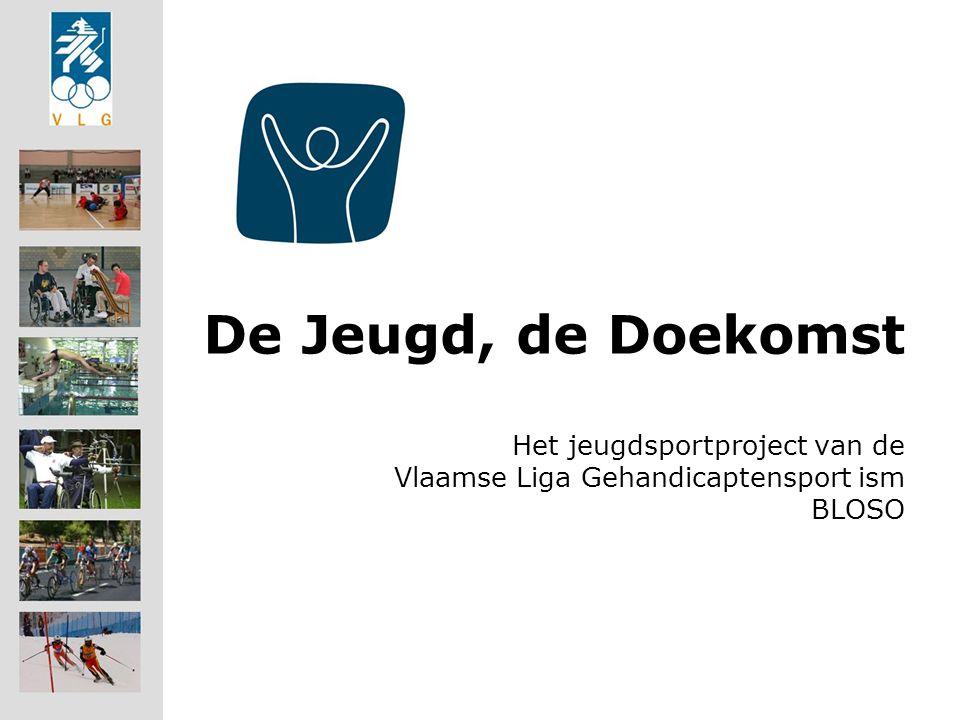 De Jeugd, de Doekomst Het jeugdsportproject van de Vlaamse Liga Gehandicaptensport ism BLOSO