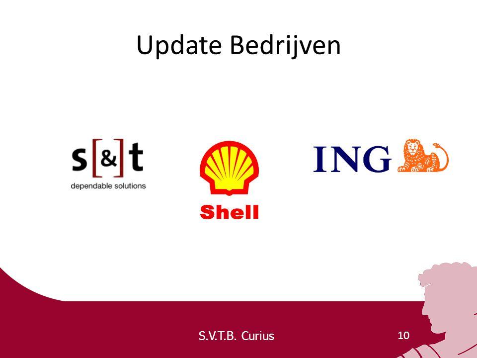 S.V.T.B. Curius 10 Update Bedrijven